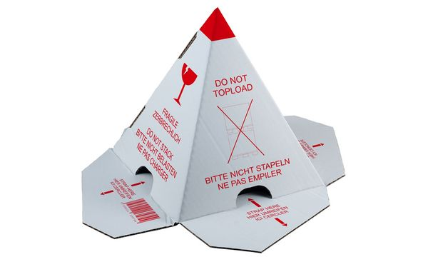 #25xsmartboxpro Palettenhütchen nicht stapeln