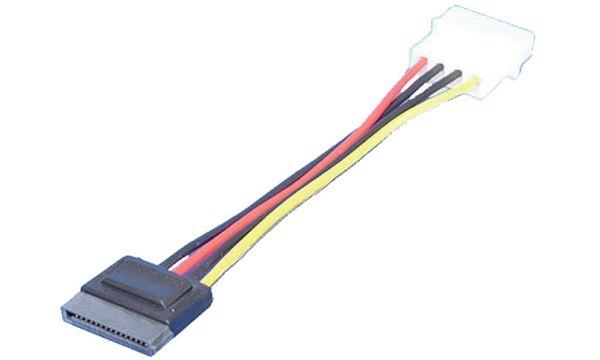 LogiLink Serial ATA Stromanschlusskabel, 0,15 m
