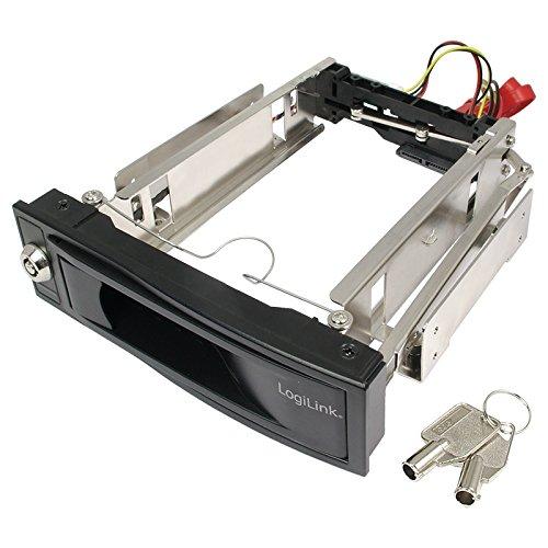 LogiLink SATA Wechselrahmen für 3,5 Festplatten, schwarz