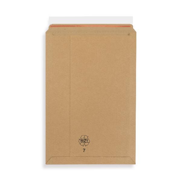 20x Kartonumschlag Wellpapp Versandtaschen 340x500x-52mm