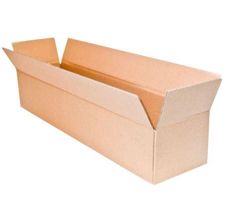 25x Faltkarton Karton  705x180x180 mm einwellige Kartons