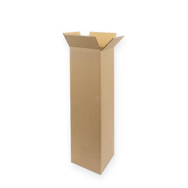 15x Faltkarton 180x180x705mm zweiwellige Kartons 2.30 Sc...