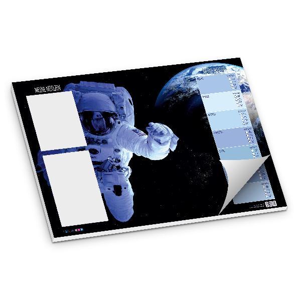 itenga Schreibtischunterlage Astronaut DIN A3 50Blatt