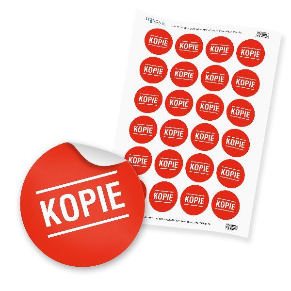 24 x itenga Hinweis Aufkleber Sticker KOPIE (Motiv 59)