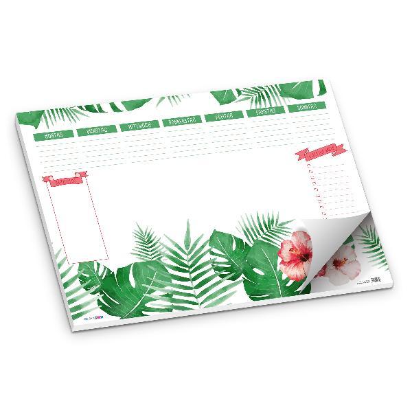 itenga Schreibtischunterlage Blätter DIN A2 50 Blatt