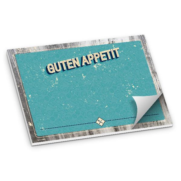 itenga Tischset Unterlage BBQ retro Grillparty DINA3 50B...