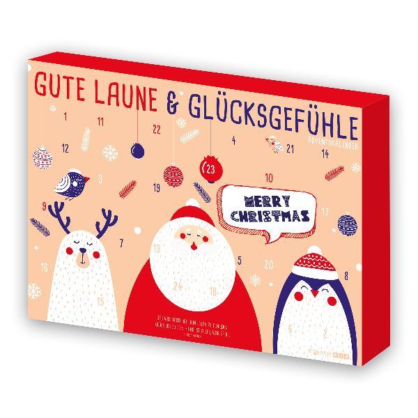 itenga Adventskalender Gute Laune Glücksgefühl kleine Di...