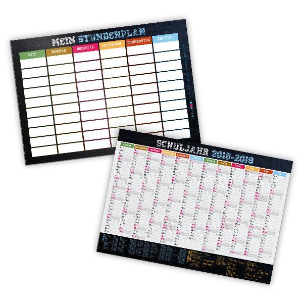 itenga Stundenplan Schülerkalender 2018 2019 DIN A4 stab...