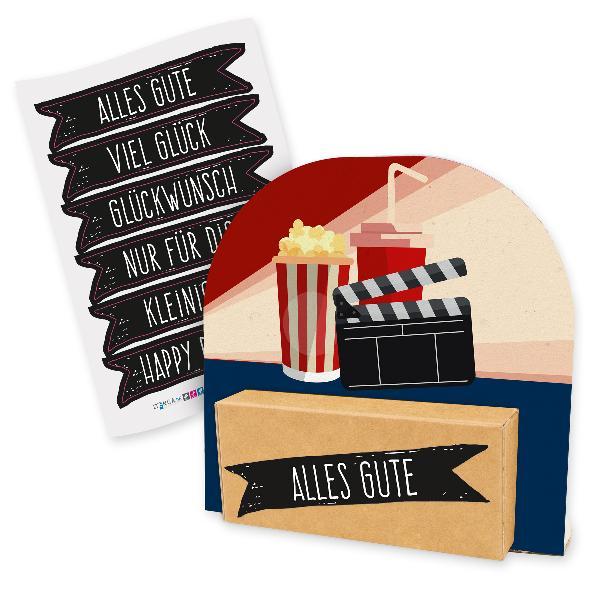 itenga Geldgeschenkverpackung Kino Film Popcorn Getränk ...