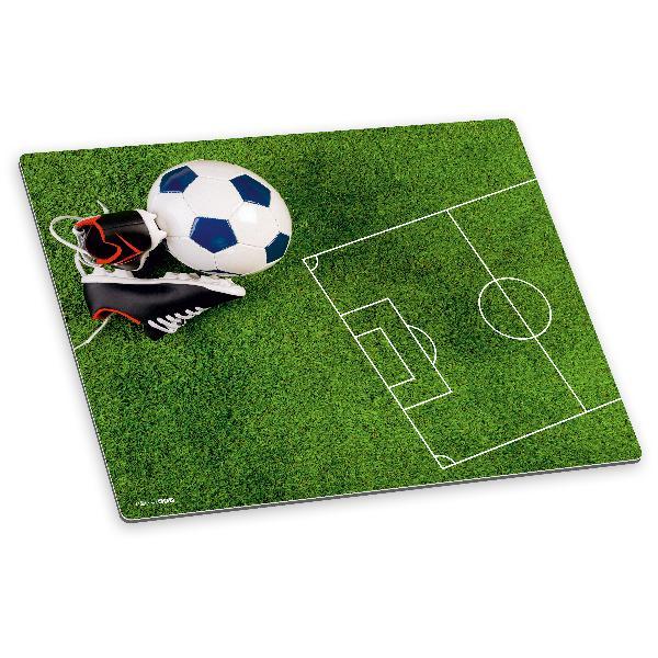 itenga Deluxe Schreibtischunterlage Fußball 50x40 cm aus...