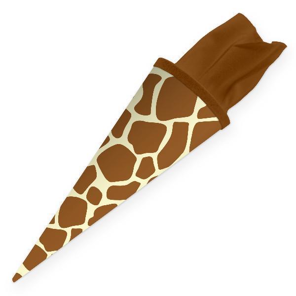 itenga Geschwister Schultüte 35cm Tiermuster Giraffe
