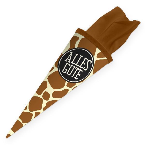 itenga Geschwister Schultüte 35cm Muster Giraffe ALLES G...
