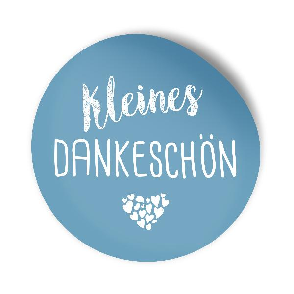 itenga 24x Sticker kleines Dankeschön (Motiv 118) nordic...