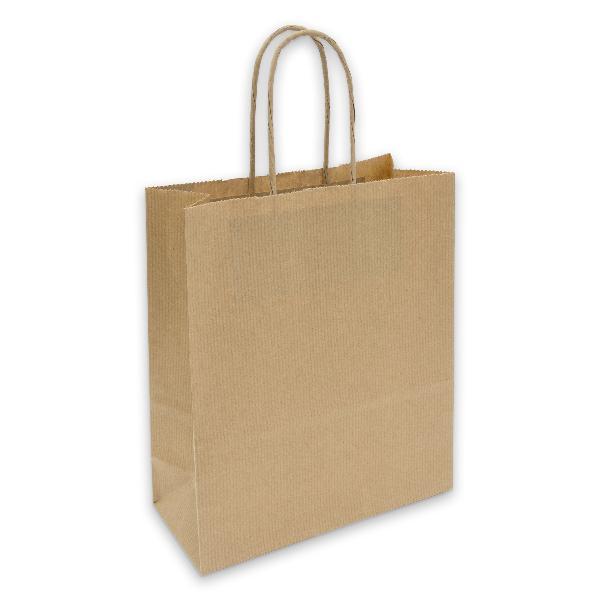 Papiertragetasche Geschenktüte mit Kordel 18x8x22cm 90g ...
