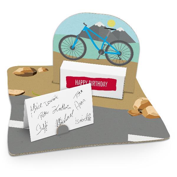 itenga Geldgeschenkverpackung Fahrrad modern (Motiv 59) ...