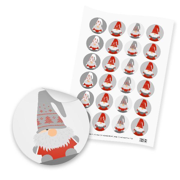 itenga 24x Sticker Wichtelbande (Motiv 152)