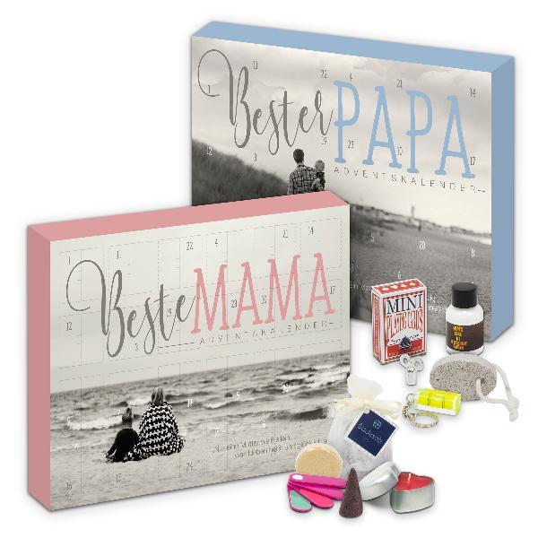 itenga Adventskalender Set 2020 Beste Mama & Bester Papa