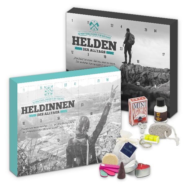 itenga Adventskalender Set Helden & Heldinnen (Türkis Sc...
