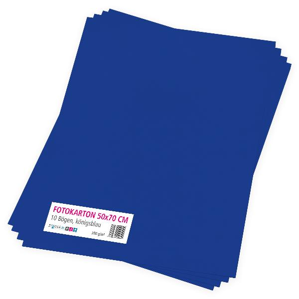 itenga Fotokarton königsblau - 50x70cm 300g/m² 10 Bogen