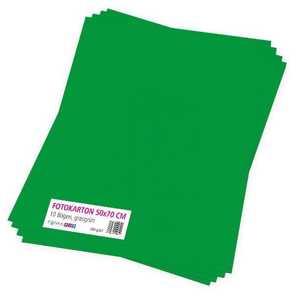 itenga Fotokarton grasgrün - 50x70cm 300g/m² 10 Bogen