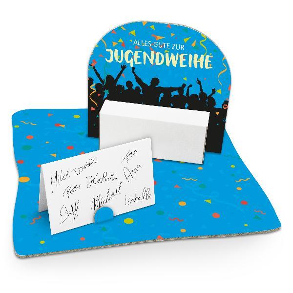 itenga Geldgeschenk Verpackung Jugendweihe mit Bodenplat...