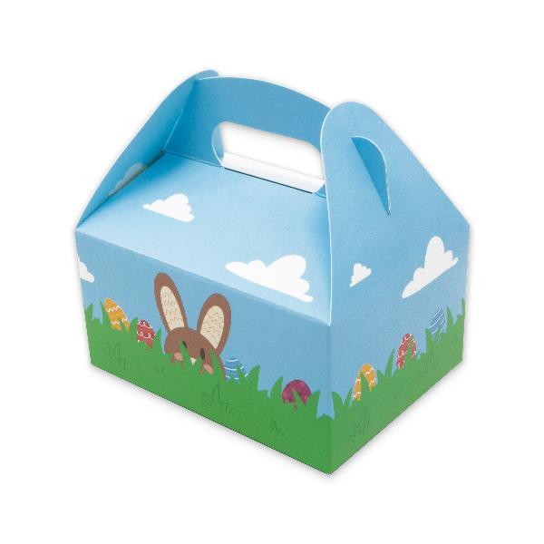 itenga 10x Geschenkbox mit Tragegriff Verpackung Ostern ...
