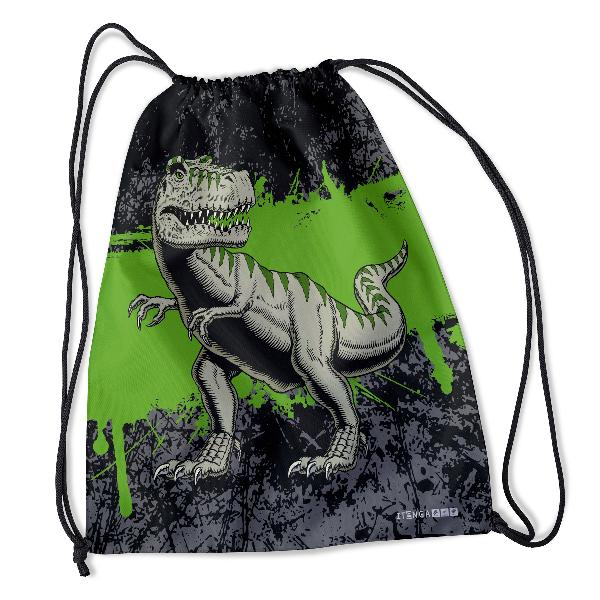 itenga Turnbeutel T-Rex 34 x 45 cm 100% PET Recycling Po...
