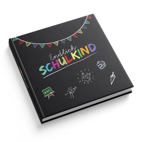 itenga Gästebuch Motiv Tafel Schulkind 88 Seiten schwa...