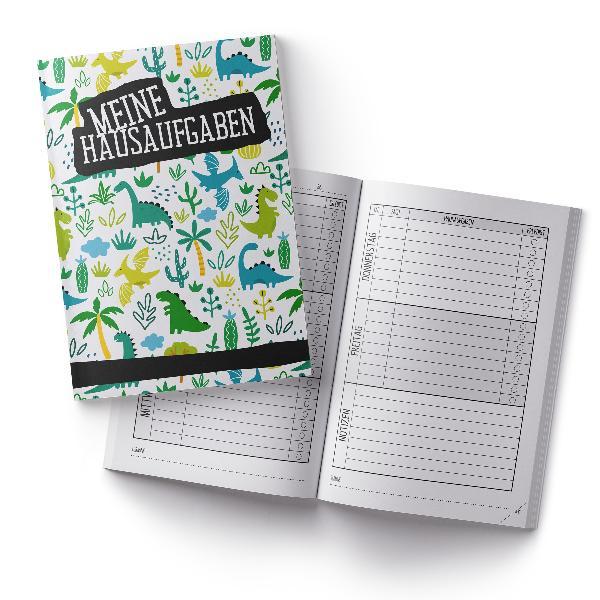 itenga Hausaufgabenheft Dinos (Motiv 1) DIN A5, 96 Seiten
