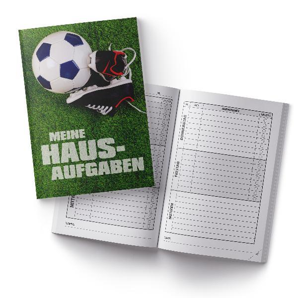 itenga Hausaufgabenheft Fußballschuhe (Motiv 13) DIN A5,...