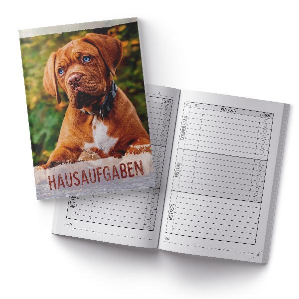 itenga Hausaufgabenheft Hund (Motiv 20) DIN A5, 96 Seiten