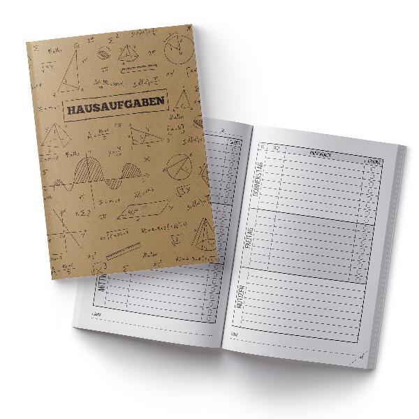 itenga Hausaufgabenheft Formeln Kraftpapier (Motiv 39) D...
