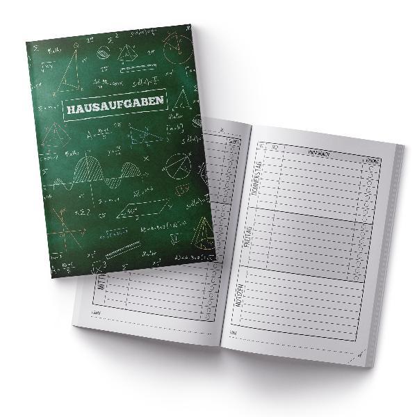 itenga Hausaufgabenheft Formeln Tafel (Motiv 40) DIN A5,...