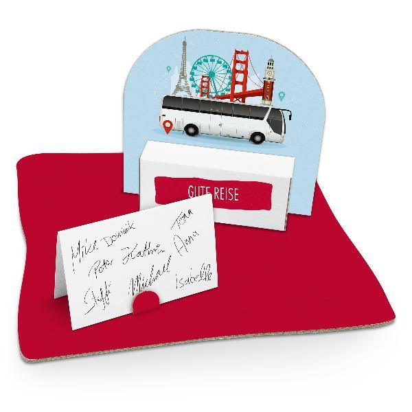 itenga Geldgeschenkverpackung Busreise (Motiv 87) mit Bo...