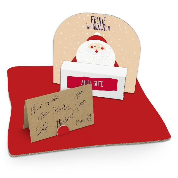 itenga Geldgeschenkverpackung Weihnachtsmann (Motiv 114)...