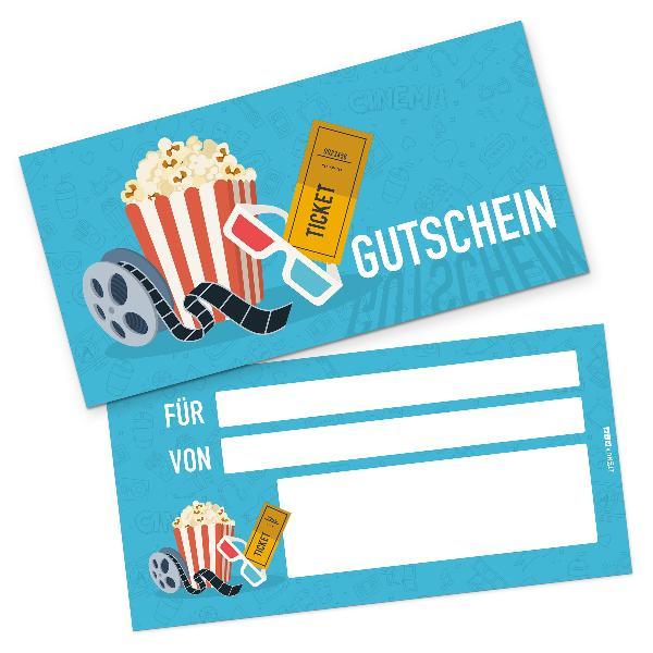 itenga Geschenkgutschein Kinoticket (Motiv 1), Postkarte...