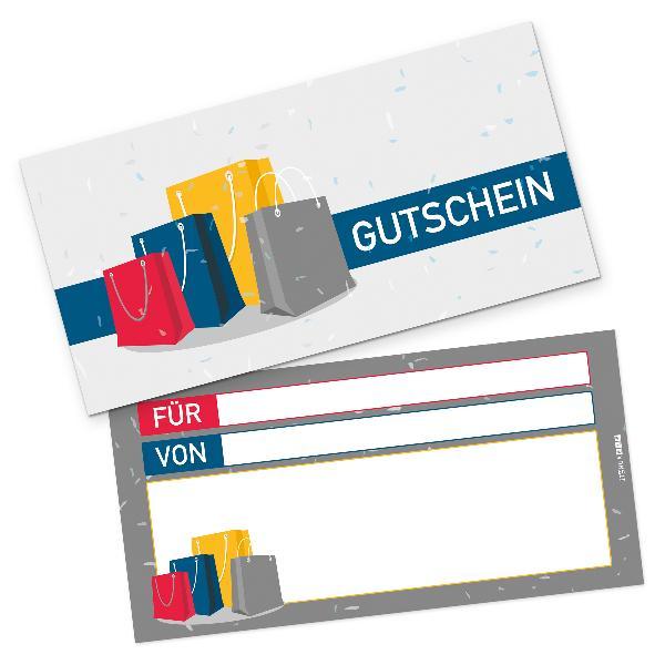 itenga Geschenkgutschein Shopping (Motiv 9), Postkarte z...