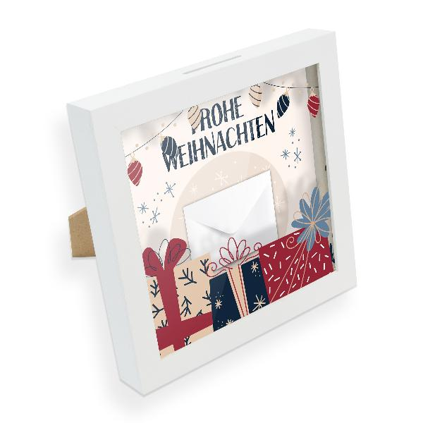 itenga Bilderrahmen Geldgeschenk Weihnachten Vintage (Mo...
