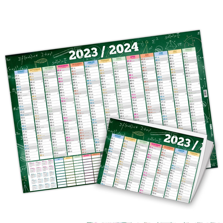 itenga Schülerkalender 2021 2022  DIN A2 250 g/m² gefalz...