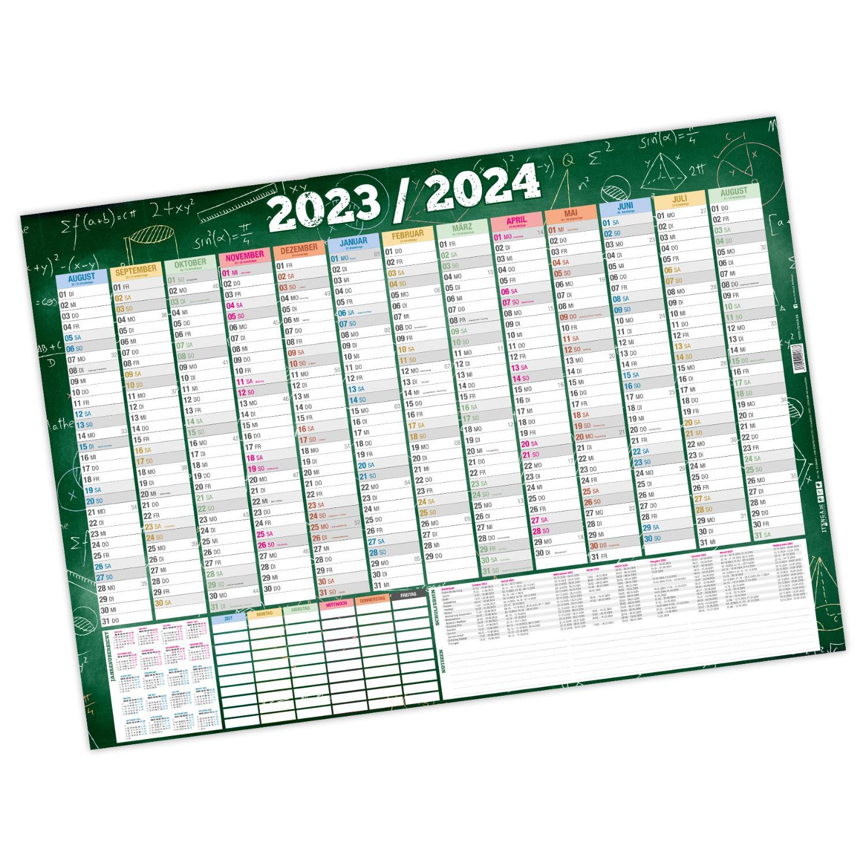 itenga Schülerkalender 2021 2022 Wandkalender DIN A0 abw...
