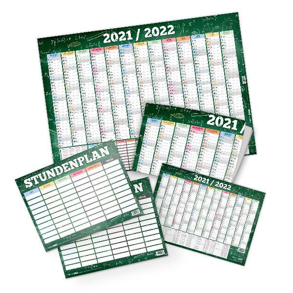 itenga Set Schülerkalender A2 und A4 und Stundenplan