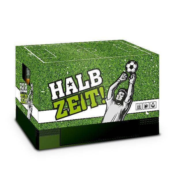 itenga Bierkasten Geschenkverpackung Motiv Fußball- Hüll...