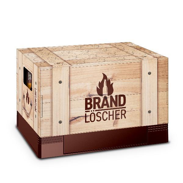 itenga Bierkasten Geschenkverpackung Motiv Brandlöscher ...