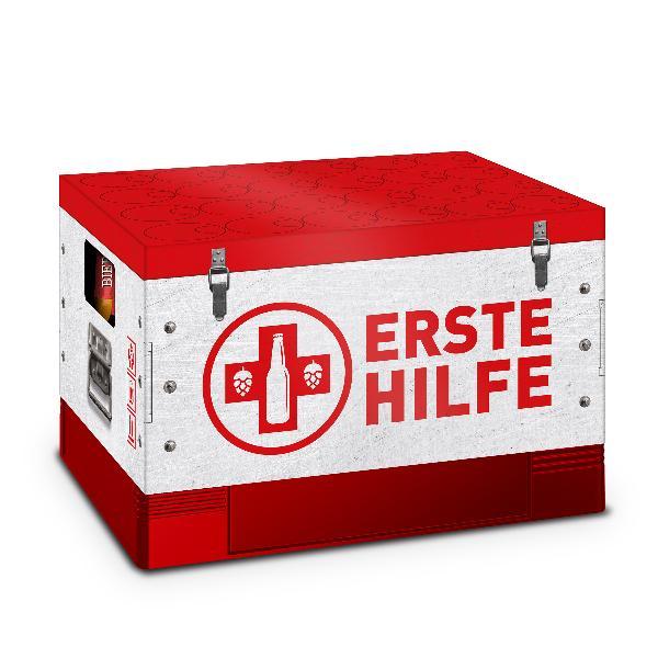 itenga Bierkasten Geschenkverpackung Motiv Erste Hilfe -...