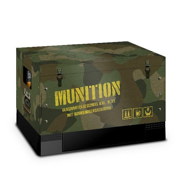 itenga Bierkasten Geschenkverpackung Motiv Munitionskist...