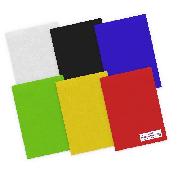 itenga Fotokarton - A4 300 g/qm 24 Blatt sortiert - Inte...