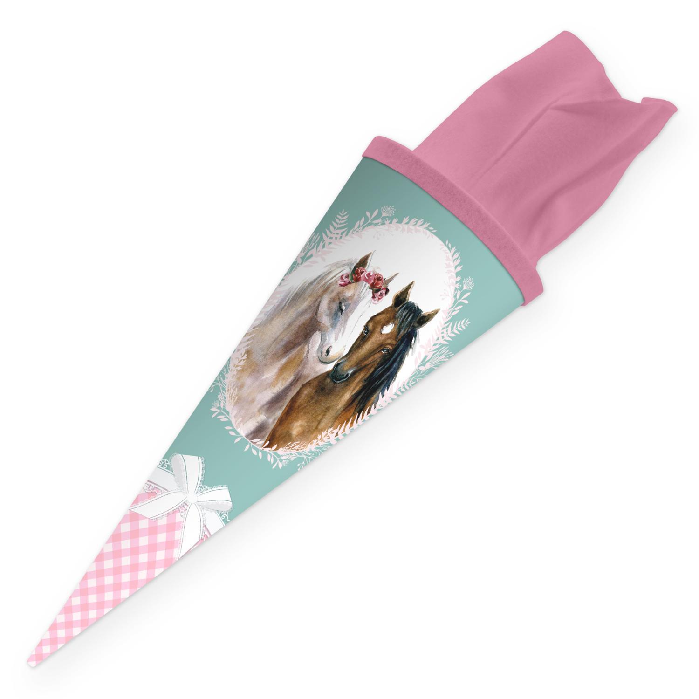 itenga Geschwister Schultüte 35cm Pferde