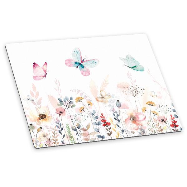 itenga Deluxe Schreibtischunterlage Schmetterling 50x40 ...