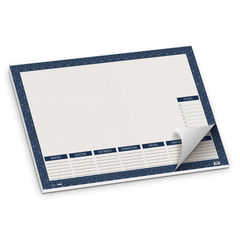 itenga Schreibtischunterlage Muster Abstrakt geometrisch...