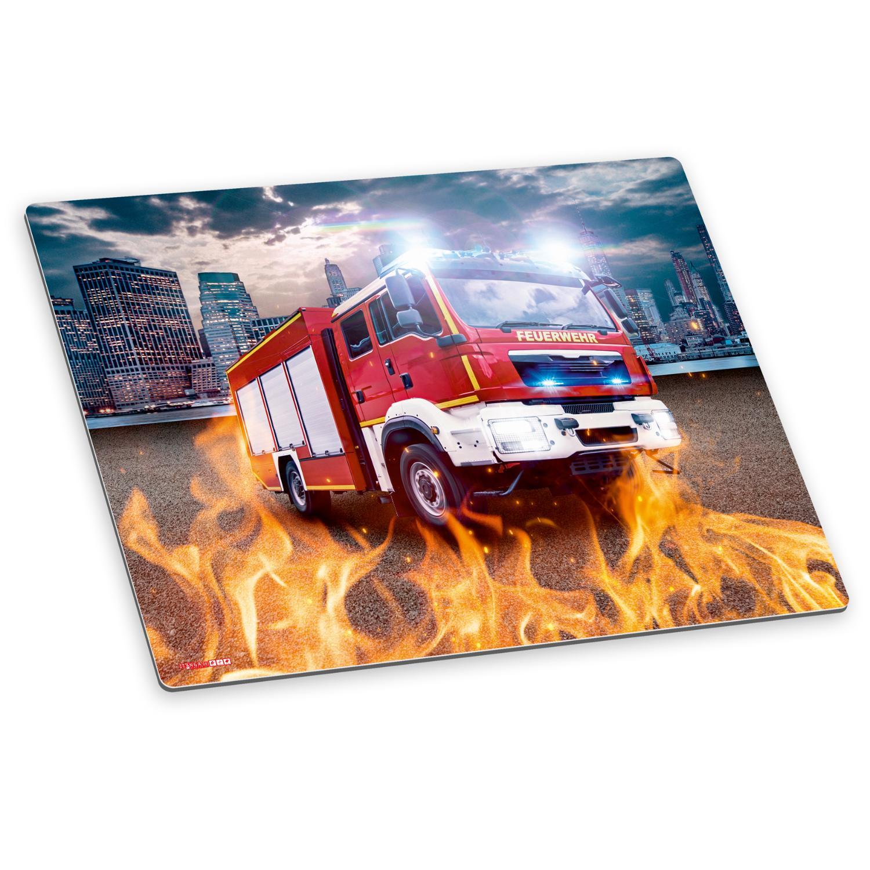 itenga Deluxe Schreibtischunterlage Feuerwehr 50x40 cm A...